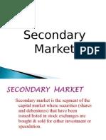 Secondary Market - Class
