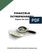 Finantele Intreprinderii Cursuri 1-9. 2013
