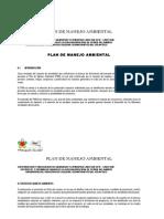 Plan de Manejo Ambiental Publicado Noviembre 9