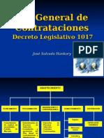 Resumen Ley de Contrataciones