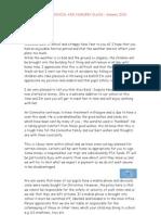 Newsletter Jan 10