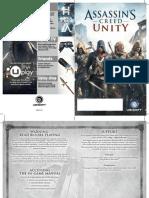 Assassins Creed unity manual