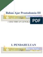 Bahan Ajar Prostodonsia