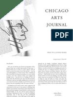 Chicago Arts Journal