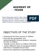 Management of Fever 1