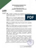 Resolución RP-RDE-020-2014