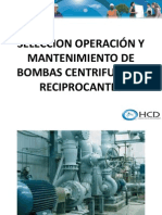 Bombas Cesar Oct 2014 - Capacitacion Bombas Hidrulicas Centrifugas y Reciprocantes