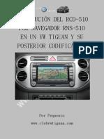 Brico Instalacion RNS-510 volkswagen Tiguan