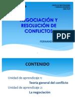 1negociacion y Resolucion de Conflictos