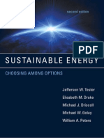 SUSTAINABLE ENERGY - CHOOSING AMONG OPTIONS