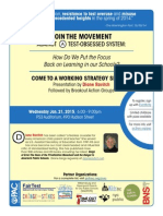 PS3 FLIER Jan 21 2015 Forum With Diane Ravitch