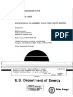 Application of Solar Energy to Air Conditioning Systems (1976)