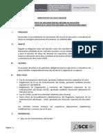 Directiva Record de Ejecucion y Consultoria de Obras