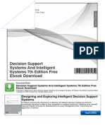 Decision Support Systems and Intelligent Systems 7th Edition Free eBook Download