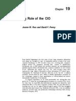 Evolving Role of CIO