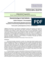 Nanotechnology in Food Industry – a Review
