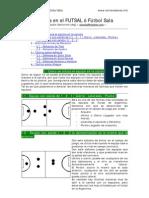 Táctica en el FUTSAL ó Fútbol Sala