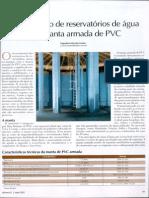 Impermeabilização Em Reservatórios Com Manta de Pvc
