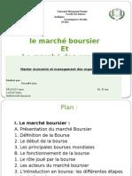 Le Marché Boursier Et Le Marcé Des Produit Dérivés