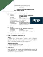Gestion Logistica de Negocios Internacionales - Lic.adm. Alberto Magno Cutipa_limache