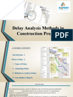Delay Analysis
