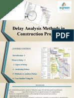 Delay Analysis
