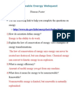 renewable energy webquest