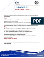 Corporate Catalyst'15 - Round 2 Guidelines