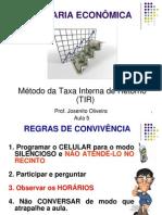 5 Metodo Da Taxa Interna de Retorno-TIR