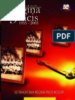 Buku Kenangan Reuni Emas SMA Regina Pacis Bogor