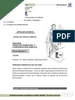 Tarea Semana i Derecho Municipal y Contratacion Publica