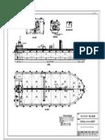 280ft Oil Barge GA Plan