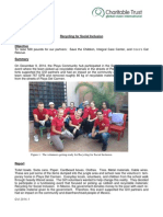 GVI Playa Del Carmen Monthly Achievement Report December 2014
