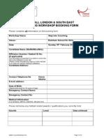 !Booking Form - Step Into Coaching - Rainham School for Girls - 150215 -...