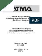Manual HP4050E