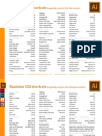 Illustrator Cs6 Shortcuts 2012-08-03