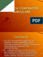 2-Biofizica Contractiei Musculare