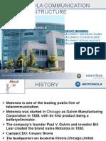 Motorola Communication Structure