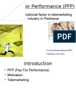 Pay for Performance (PFP)