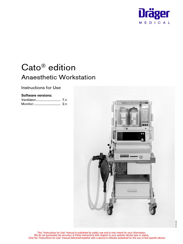drager cato service manual