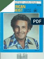 American Atheist Magazine Aug 1977