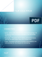 Short Film Idea Pitch