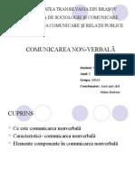 Comunicare Nonverbala