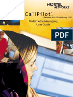 CallPilot 4.0 Multimedia User Guide (555-7101-420)