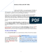 Office 2007 Introduction