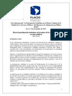 Hacia la participación ciudadana en la mejora de la calidad de los servicios públicos Eddy Tejeda