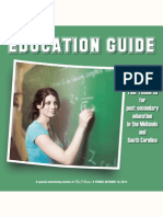 Education Guide, fall 2014