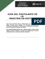 Guía Del Postulante