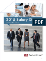 Financials 2015 Salary Guide