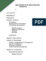 Protocolo Para Proyecto de Investigación Científica